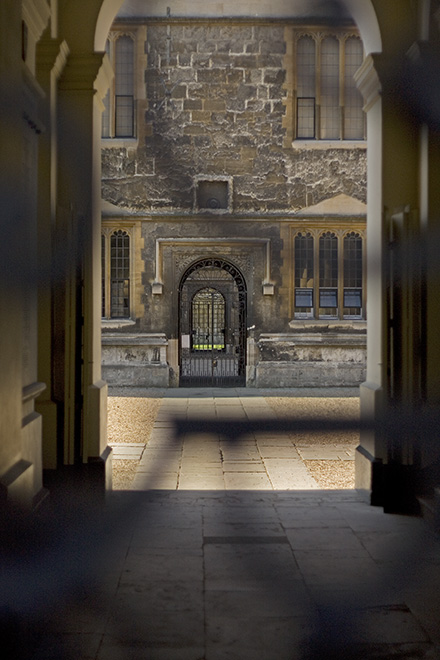 Through the Bodleian Library